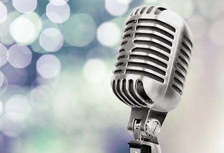 microphone retro: Microphone.