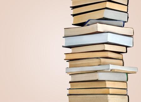 apilar: Pila de libro.