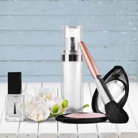 lipstick tube: Makeup.
