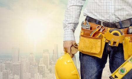 herramientas de construccion: Mejoras para el hogar. Foto de archivo