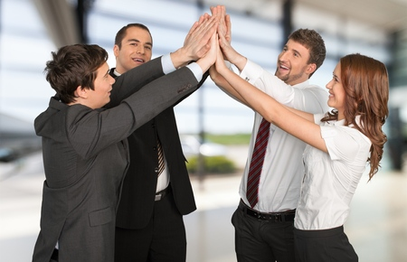 success in business: Business Success. Stock Photo