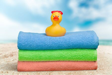 towel: Summer.
