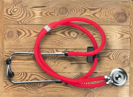 stethoscope: Stethoscope. Stock Photo