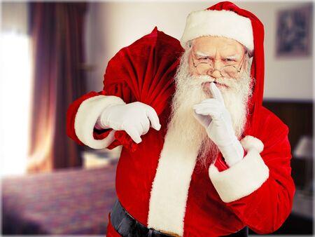 goodie: Santa Claus. Stock Photo
