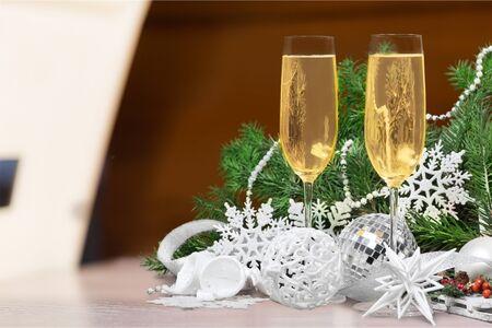 nouvel an: Nouvelle ann�e. Banque d'images