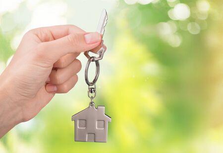 hand key: Moving House.