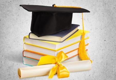 white achievement: Graduation.