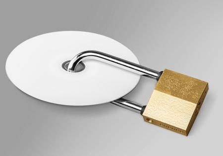 disks: Lock. Stock Photo