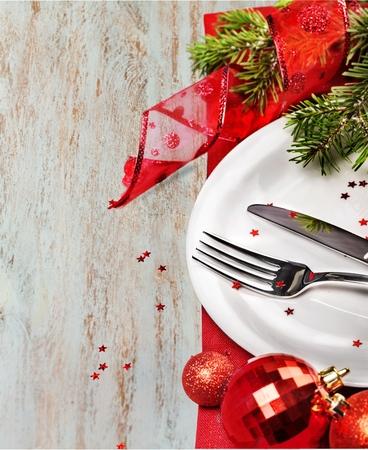 festive: Dinner.
