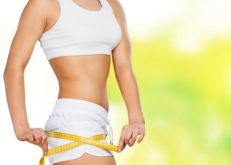 woman diet: Dieting.
