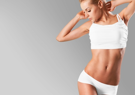 bikini: Woman.