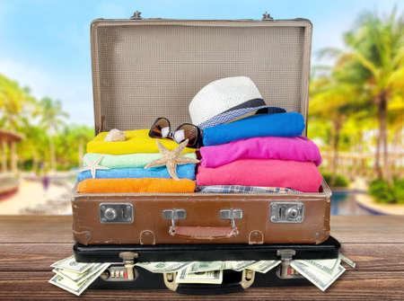 travel bag: Travel bag. Stock Photo