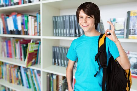 schoolkid: School kid. Stock Photo