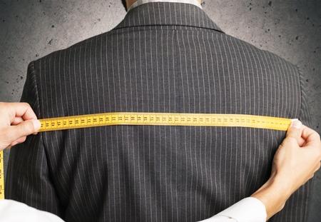 tailors tape: Tailoring. Stock Photo