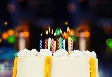 urodziny: Tort urodzinowy.