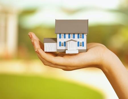 consumerism: Real Estate. Stock Photo