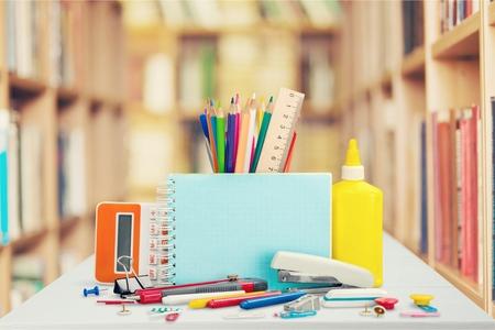 school desk: School desk.