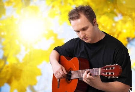 writing western: Guitar.