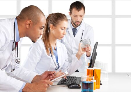 scientist: Laboratory.