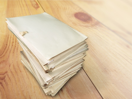 insurmountable: Files. Stock Photo