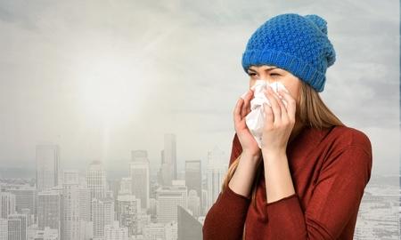 gripe: Resfriado y gripe.