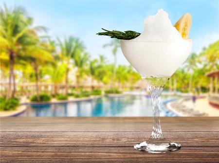cocktail glasses: Margarita.