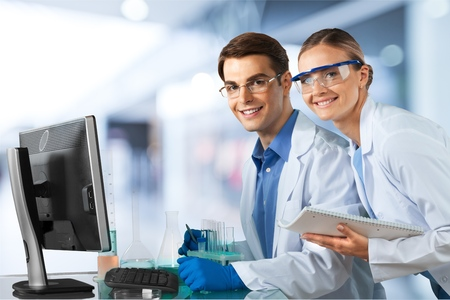 dna laboratory: Laboratory.