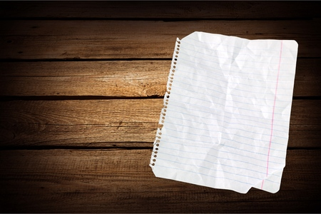 lined: Lined Paper. Stock Photo