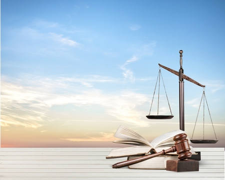 Business law. Stock Photo