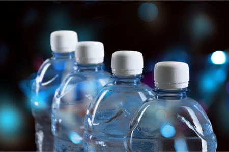 water bottles: Water Bottles. Stock Photo