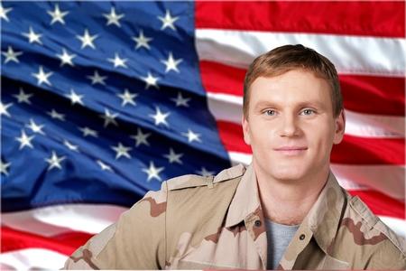 military man: Military Veteran.