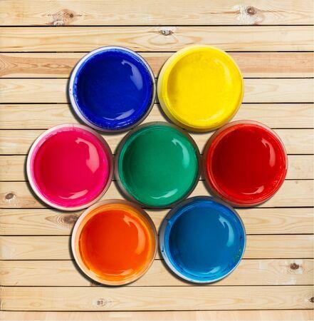 tempera: Color Wheel.