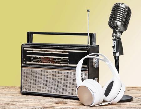 radio frequency: Radio broadcasting.