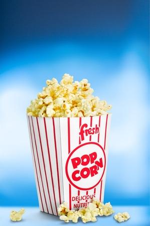 food photography: Popcorn.