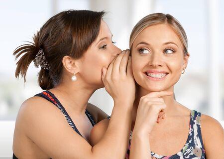 chatty: Gossip. Stock Photo