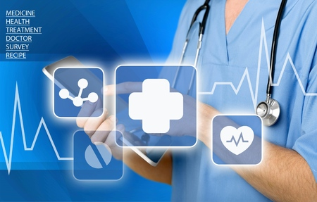 Gezondheidszorg en Medicijnen. Stockfoto