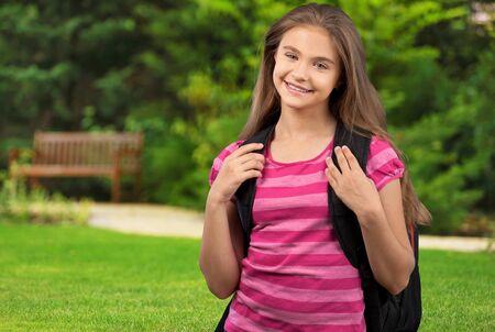 elementary age girl: Child.