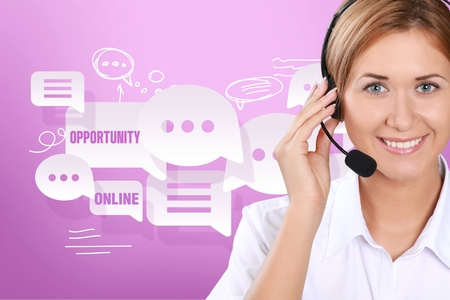 customer service representative: Call Center.