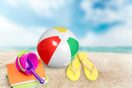 ball: Beach Ball.