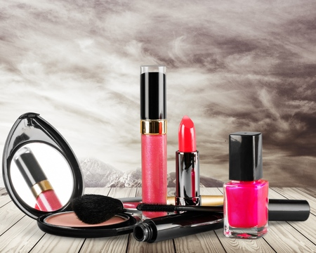 maquillage: Maquillage. Banque d'images
