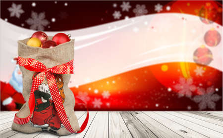 sackful: Santa.