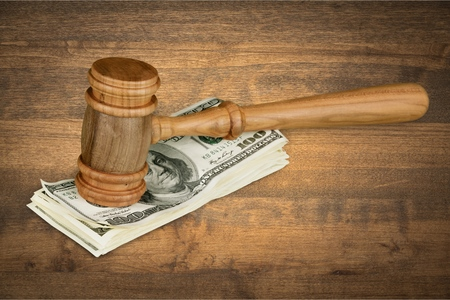 criminal defense: Abstract. Stock Photo