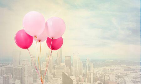 helium balloon: Balloon.
