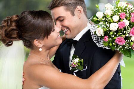 parejas enamoradas: La boda.