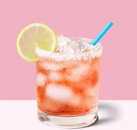 coctel margarita: Cocktail.