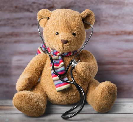 body conscious: Teddy Bear.