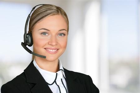 operator: Service. Stock Photo
