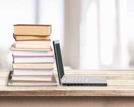 book stack: Book Stack.