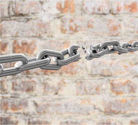 cadena rota: Cadena.