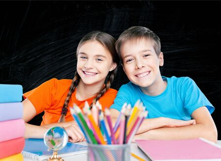 schoolkids: School kids.
